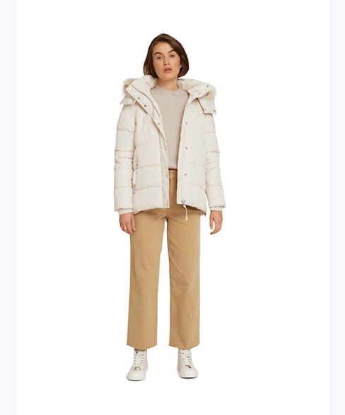 1027036 | HOODED PUFFER JACKET